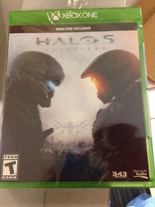 Brand New Sealed Unopened Copy of Halo 5 for Xbone