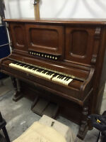 Free antique piano- for salvage, reclaimed wood, repurpose