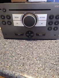 Vauxhall radio / CD player