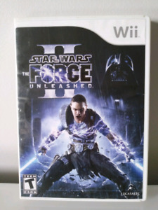 Star Wars The Force Unleashed II Wii Game