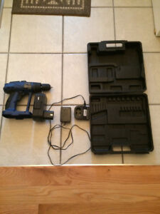 24 V CORDLESS DRILL VERY GOOD CONDITION charger and battery