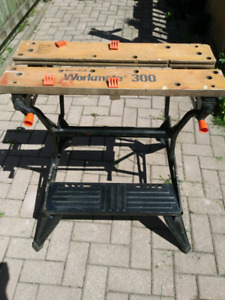 Workmate Folding Woodworking Bench
