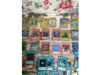 Complete deck of yugioh cards.