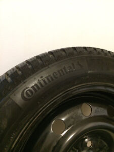 4 winter tires with rims. SOLD!!!!!