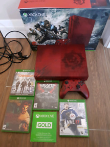 Limited Edition Gears of War 2TB XBOX One S bundle