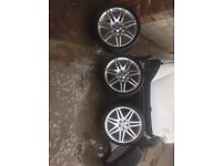 AMG alloys,Mercedes r19 wheels