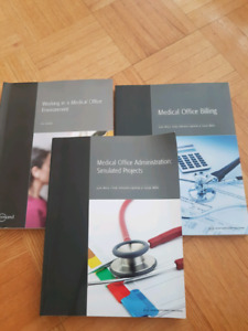 Emond - 3 Medical Office Assistant/Administration textbooks