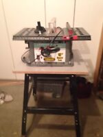10 inch Toolmaster bench table saw