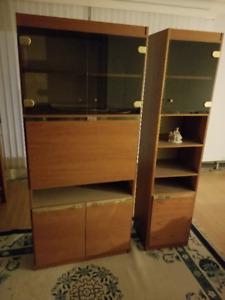 Wall units - Liquor Cabinet - Storage units - China and glass
