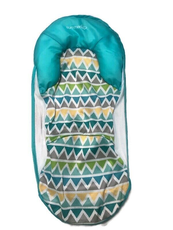 Summer Infant Deluxe Baby Bather Bathtub Replacement Sling Cover Pillow Blue