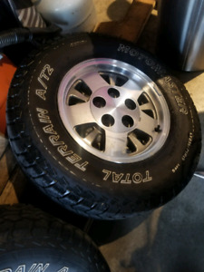 Lt235/75r15 tires and rims. NEED GONE ASAP