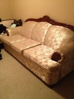 FREE Couch Seats 3 NEEDS TO GO!!!!
