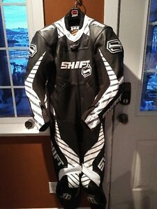 SHIFT ONE PIECE LEATHER SPORT BIKE SUIT USED ONCE