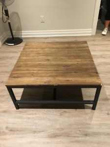 Zuo Era - Gilman Square Coffee Table - Distressed Natural Wood