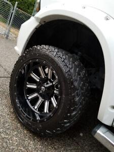 Fuel Rim/Tire Package 20x12 - Dodge 1500