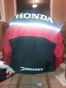 Large Honda Joe rocket textile protection motorbike jacket Strathcona County Edmonton Area image 1
