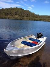 12ft aluminium boat with trailer and almost new 15HP Suzuki motor Barden Ridge Sutherland Area Preview