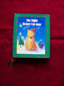 CHRISTMAS BOOK THE NIGHT BEFORE CATMAS CAT LOVERS GIFT