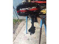 Mercury 3.3hp outboard motor