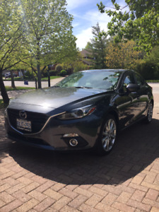 Mazda3 GT; Leather Luxury Package
