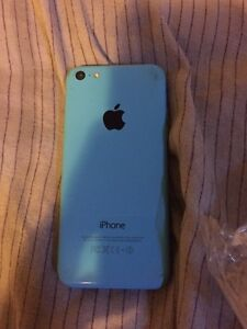 Blue iPhone 5c with bell Kawartha Lakes Peterborough Area image 2