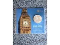 £100 Big Ben limited edition coins x 4