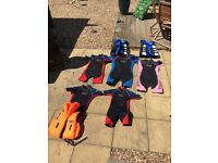 Wet Suits and Lifejackets
