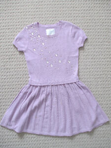 Girl's Dress - Lilac - Size 8 - Excellent Condition