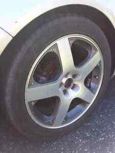"VW wheels rims Monte Carlo 17"" Kitchener / Waterloo Kitchener Area image 4"