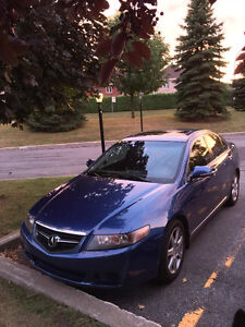 2005 Acura TSX- Sunroof, AC, Leather, NewTires, Mags, 2set tires