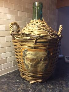 cruchon cruche bouteille vin