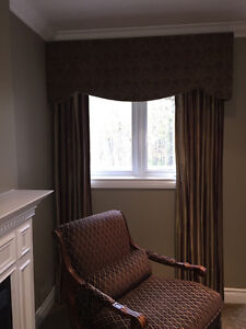 LUXURY, CUSTOM MADE WINDOW COVERINGS