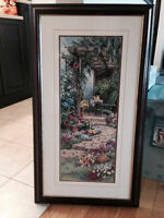 Framed wall picture