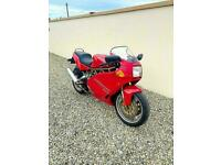 DUCATI 900 SUPERSPORT - 5300 MILES FROM NEW SUPER GENUINE STANDARD EXAMPLE - PX