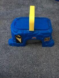 DCsuperheroes Batman carry along set