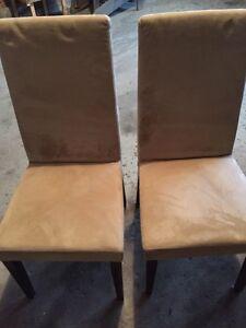 Six parson chairs