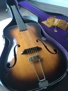 Martin R-18 1939 Vintage Archtop W/ hangtags, Case Candy