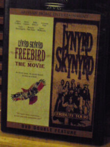 DOUBLE FEATURE DVD LYNRD SKYNRD FEEBIRD THE MOVIE&TRIBUTE TOUR