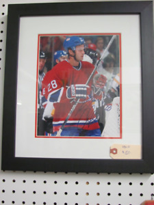 """Signed Kyle Chipchura 8"""" x 10"""" Photo in Frame 14"""" x 16"""""""