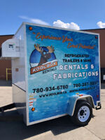 Refrigerated Cooler / Reefer Trailers for Rent