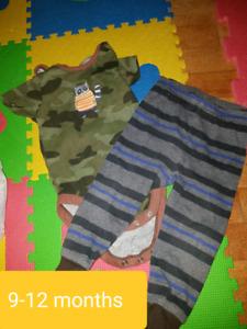 6-12 month clothes
