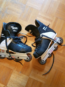 Can tack roller blades