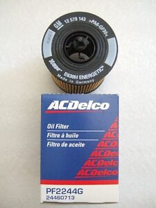 ACDelco Oil Filter (GM + Saturn)