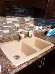 Siligranit Kitchen Sink and Faucet