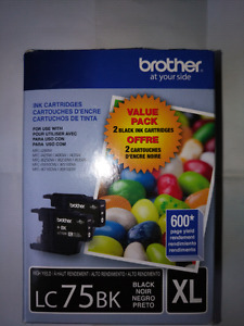 Brother Ink Cartridge LC75BK