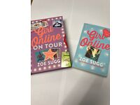 Two 'girl on line' books - Brand new!