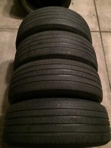 4 Michelin Pilot HXMXM4 - 235/55/19 - 50-60% - $80 FOR ALL 4