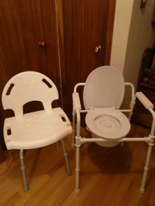 Bath Chair and Commode Chair