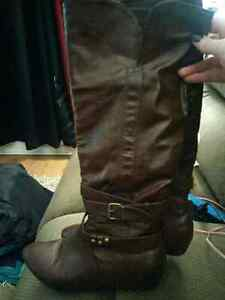 2 Pairs of Size 10 Boots ($20 for both)