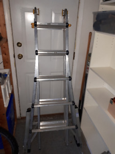 21' Ladder with Levelok Ladder Stabilizers